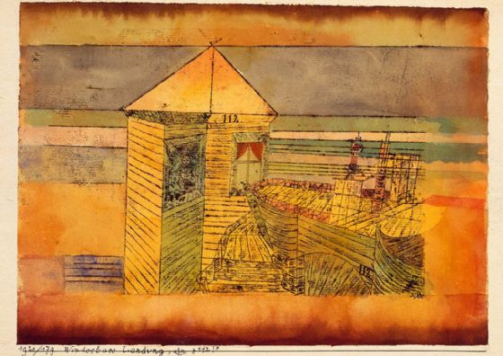"Klee, Paul: Miraculous Landing, or the ""112!"". Fine Art Print/Poster (5016)"